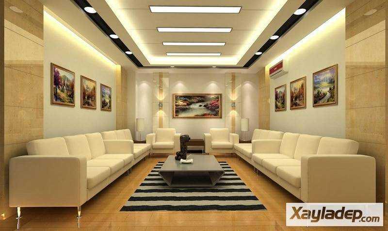 Thiết kế sang trong cho những phòng khách rộng và đặc biệt. Ảnh 09