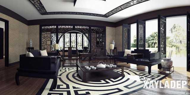 noi-that-phong-khach-trung-quoc-11 20 Mẫu thiết kế nội thất phòng khách Trung Hoa cổ điển tuyệt đẹp