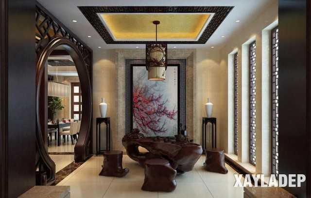noi-that-phong-khach-trung-quoc-16 20 Mẫu thiết kế nội thất phòng khách Trung Hoa cổ điển tuyệt đẹp