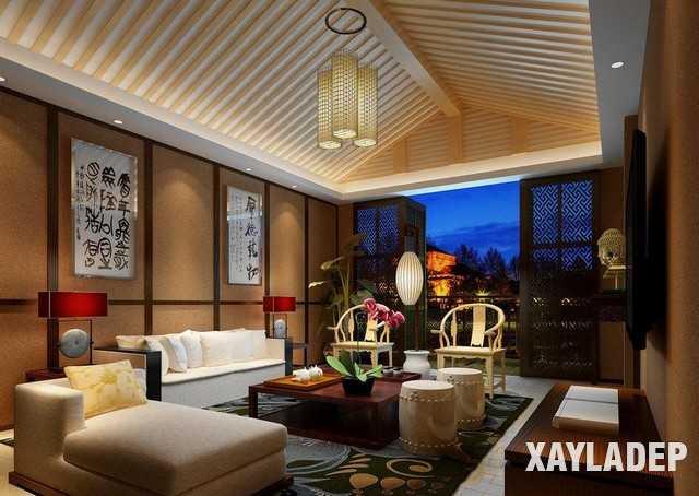 noi-that-phong-khach-trung-quoc-2 20 Mẫu thiết kế nội thất phòng khách Trung Hoa cổ điển tuyệt đẹp