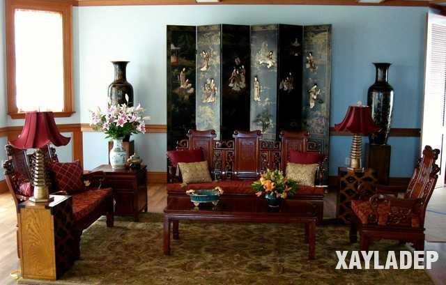 noi-that-phong-khach-trung-quoc-4 20 Mẫu thiết kế nội thất phòng khách Trung Hoa cổ điển tuyệt đẹp