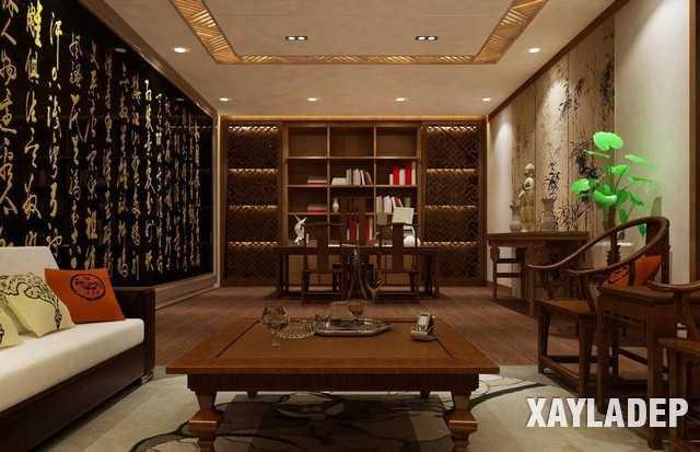 noi-that-phong-khach-trung-quoc-5 20 Mẫu thiết kế nội thất phòng khách Trung Hoa cổ điển tuyệt đẹp