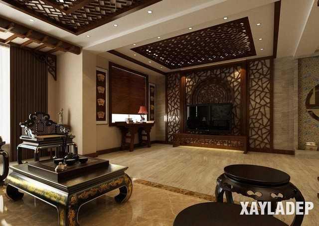 noi-that-phong-khach-trung-quoc-8 20 Mẫu thiết kế nội thất phòng khách Trung Hoa cổ điển tuyệt đẹp