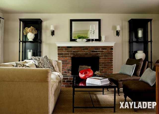 , Sự cuốn hút của phòng khách theo phong cách thiết kế cổ điển, Nhà đẹp
