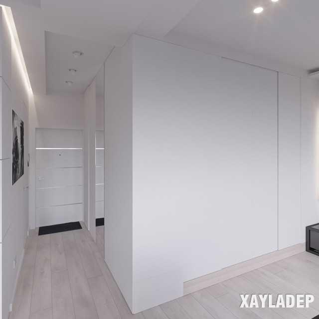thiet-ke-noi-thatchung-cu-45m2-13 Thiết kế nội thất chung cư 45 m2 phong cách hiện đại và thanh lịch