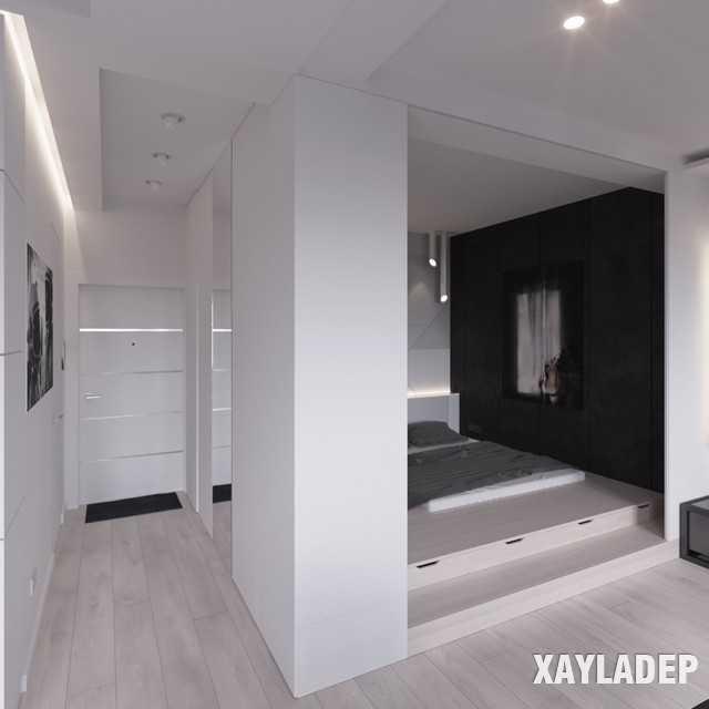 thiet-ke-noi-thatchung-cu-45m2-14 Thiết kế nội thất chung cư 45 m2 phong cách hiện đại và thanh lịch