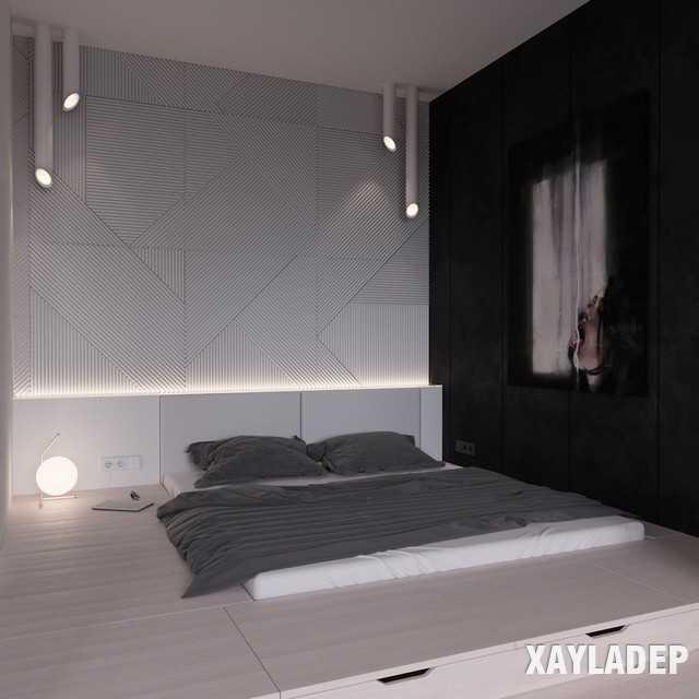 thiet-ke-noi-thatchung-cu-45m2-15 Thiết kế nội thất chung cư 45 m2 phong cách hiện đại và thanh lịch