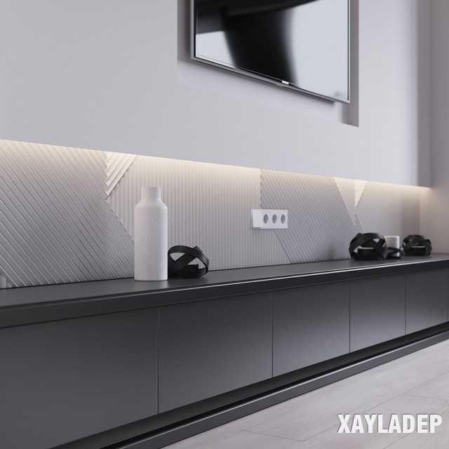 thiet-ke-noi-thatchung-cu-45m2-6 Thiết kế nội thất chung cư 45 m2 phong cách hiện đại và thanh lịch