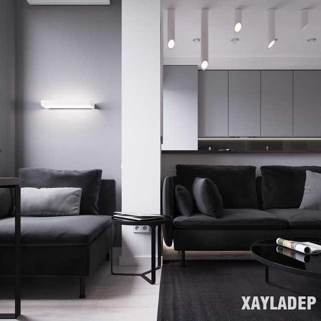 thiet-ke-noi-thatchung-cu-45m2-7 Thiết kế nội thất chung cư 45 m2 phong cách hiện đại và thanh lịch