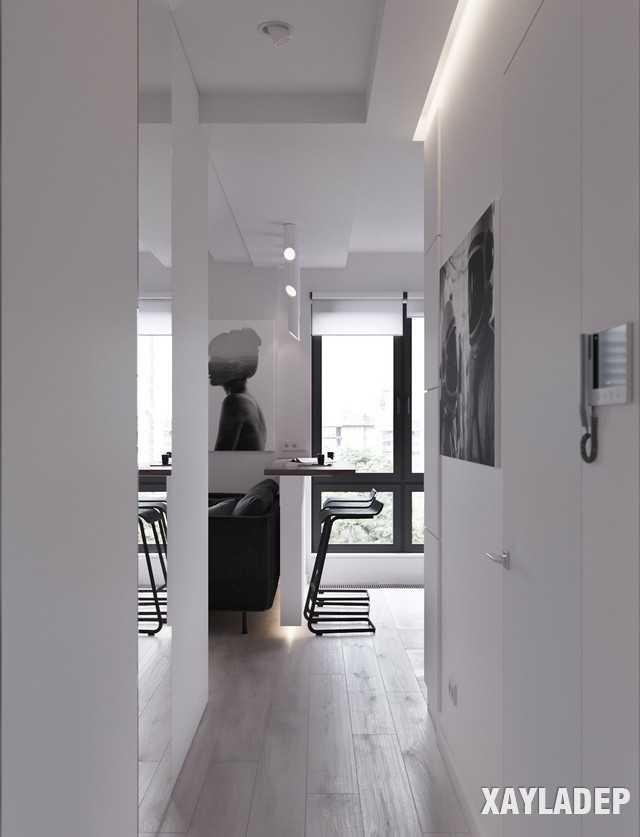 thiet-ke-noi-thatchung-cu-45m2-9 Thiết kế nội thất chung cư 45 m2 phong cách hiện đại và thanh lịch