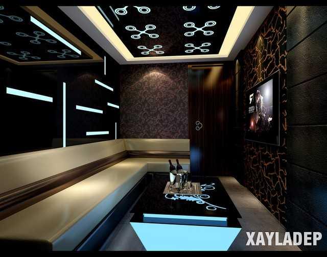 52 Mẫu thiết kế phòng karaoke đẹp nhất 2019 - Mẫu 23