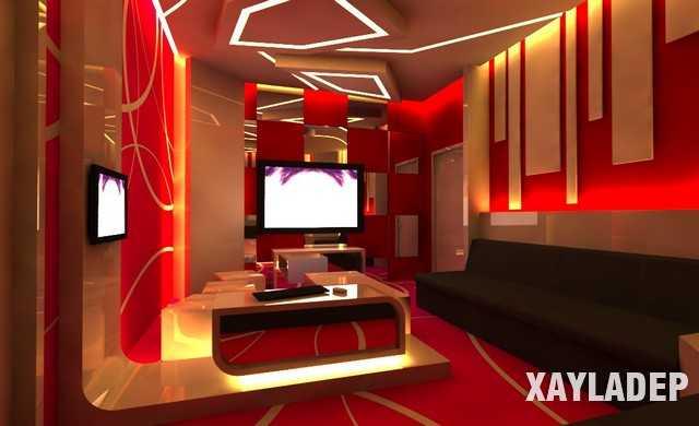 ẫu thiết kế phòng Karaoke tuyệt đẹp 2019 - Mẫu 07