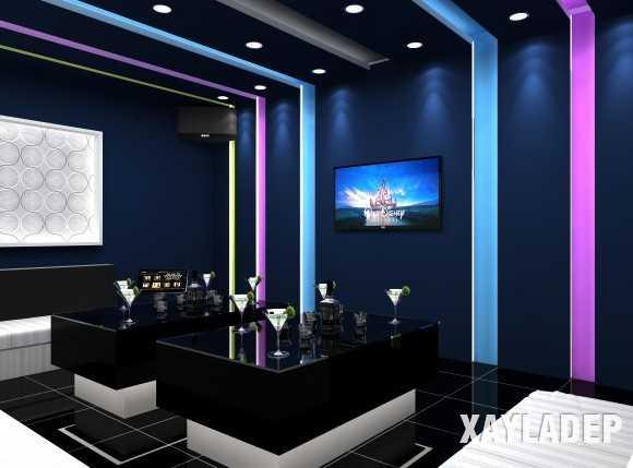 52 Mẫu thiết kế phòng karaoke đẹp nhất 2019 - Mẫu 28