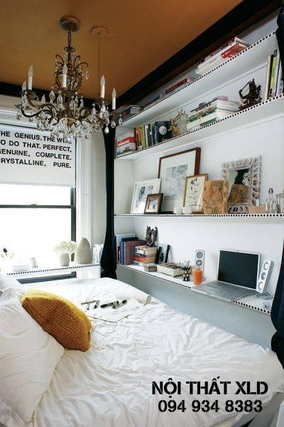 10-thiet-ke-thong-minh-cho-phong-ngu-nho-4 10 Thiết kế thông minh cho các phòng ngủ nhỏ