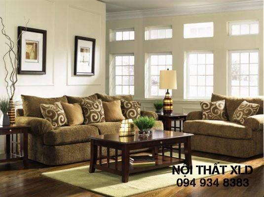 Sử dụng màu sắc tươi sáng cho các món đồ nội thất