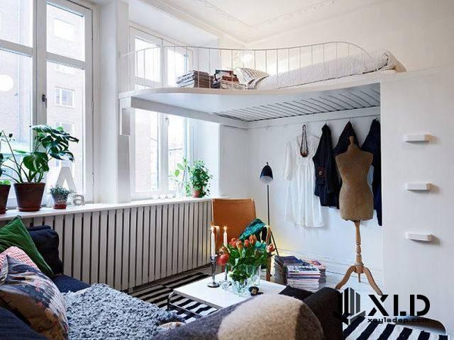 20 Mẫu thiết kế phòng ngủ nhỏ đơn giản nhưng tuyệt đẹp - Mẫu 10