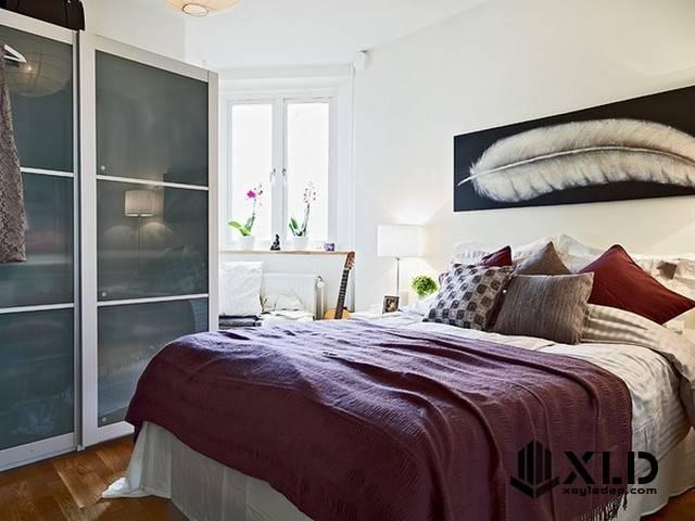 20 Mẫu thiết kế phòng ngủ nhỏ đơn giản nhưng tuyệt đẹp - Mẫu 04