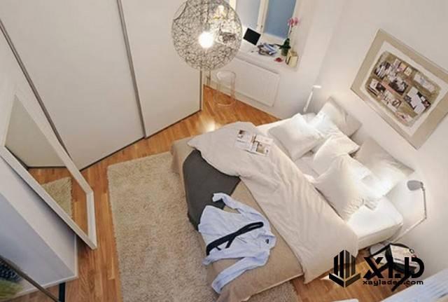 thiet-ke-phong-ngu-nho-7 20 Mẫu thiết kế phòng ngủ nhỏ đơn giản nhưng tuyệt đẹp