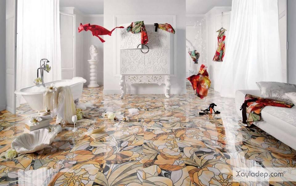 mau-gach-lat-nen-dep-8 Chọn gạch lát nền như thế nào để phù hợp với căn hộ của bạn?