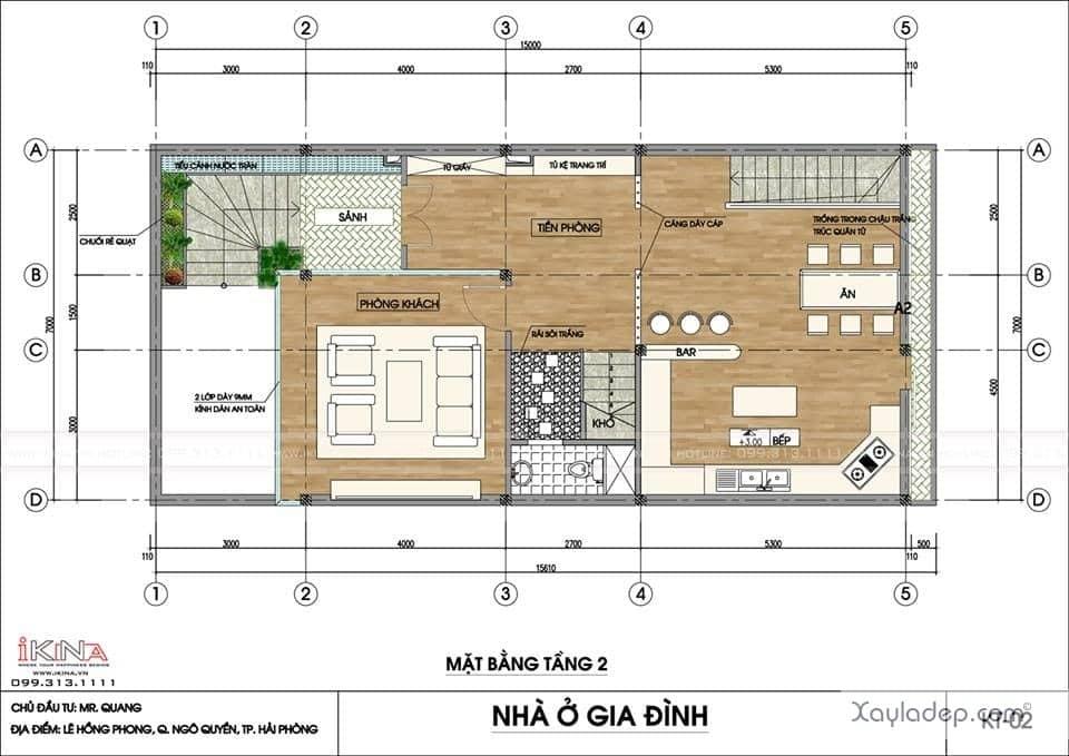 ngoi-nha-5-tang-khang-trang-voi-kinh-phi-2.5-ty-dong-2 Ngôi nhà 5 tầng khang trang với kinh phí 2,5 tỷ đồng