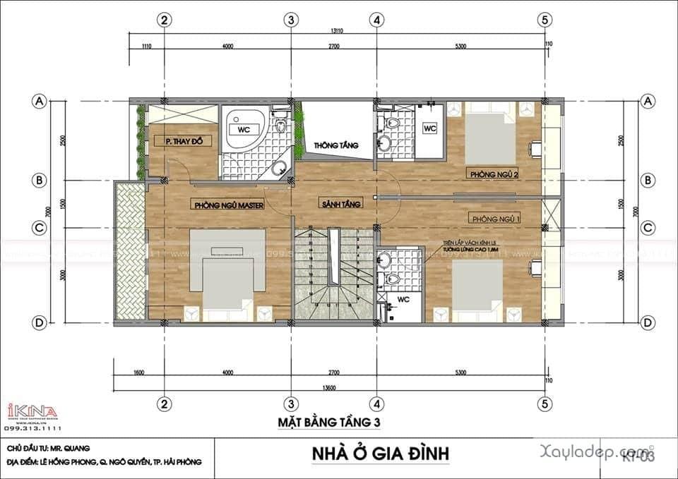 ngoi-nha-5-tang-khang-trang-voi-kinh-phi-2.5-ty-dong-3 Ngôi nhà 5 tầng khang trang với kinh phí 2,5 tỷ đồng