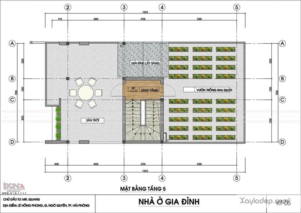 ngoi-nha-5-tang-khang-trang-voi-kinh-phi-2.5-ty-dong-4 Ngôi nhà 5 tầng khang trang với kinh phí 2,5 tỷ đồng