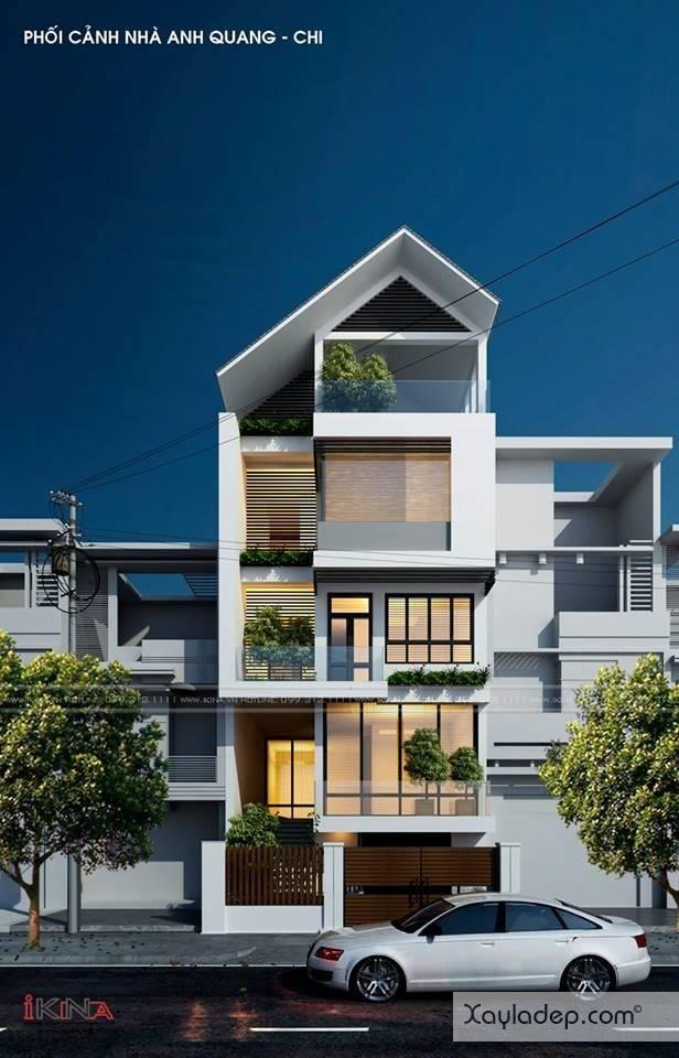 ngoi-nha-5-tang-khang-trang-voi-kinh-phi-2.5-ty-dong-6 Ngôi nhà 5 tầng khang trang với kinh phí 2,5 tỷ đồng