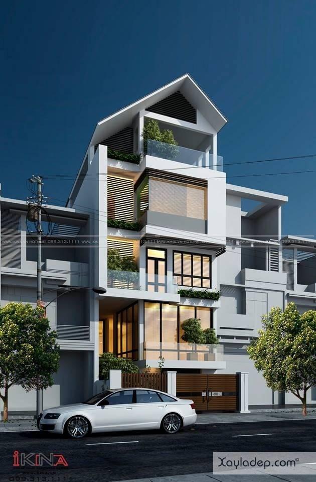 ngoi-nha-5-tang-khang-trang-voi-kinh-phi-2.5-ty-dong-8 Ngôi nhà 5 tầng khang trang với kinh phí 2,5 tỷ đồng