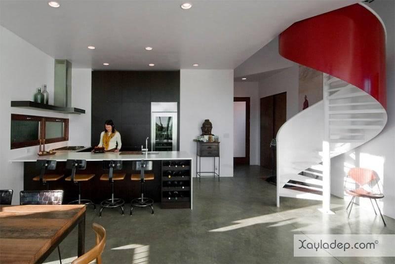 phong-bep-voi-go-va-mau-den-15 22 Mẫu thiết kế phòng bếp ấn tượng kết hợp giữa gỗ và gam màu đen