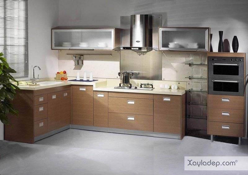 3. các mẫu tủ bếp đẹp thường đi kèm với giá sản phẩm cao hơn