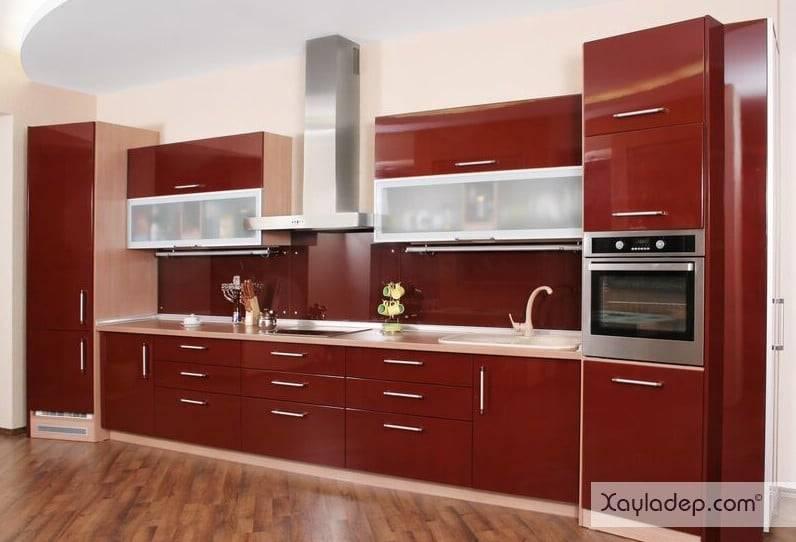 2. tủ bếp gỗ công nghiệp là sự lựa chọn hàng đầu trong các công trình xây dựng