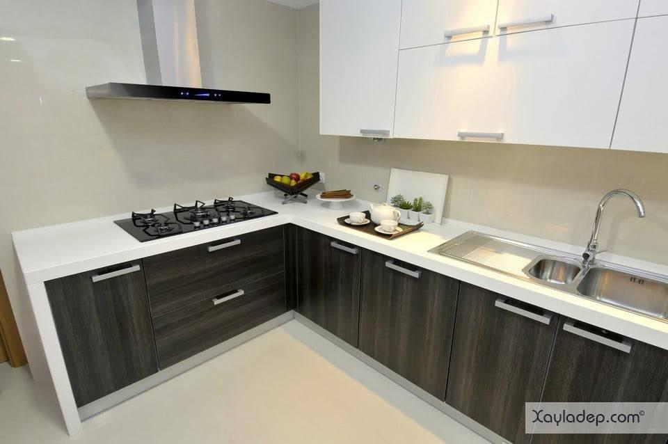 10. Các mẫu tủ bếp thông minh có thể giúp căn phòng rộng hơn đáng kể