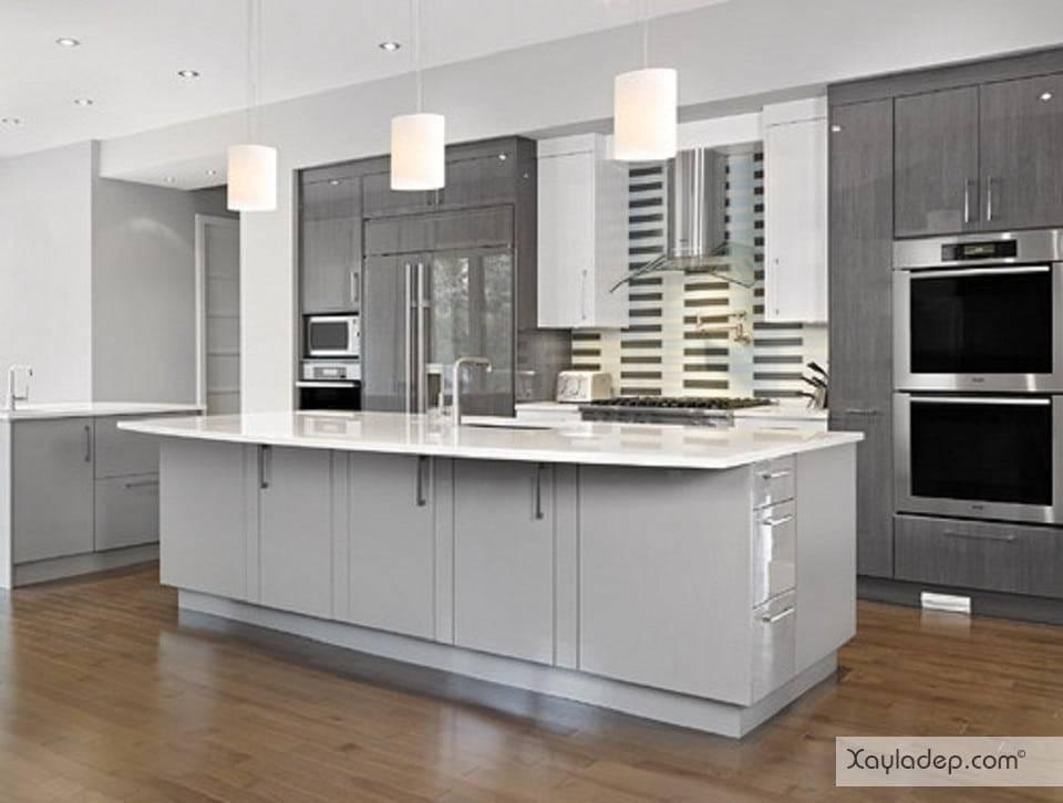 7. phụ kiện tủ bếp có rất nhiều tùy vào nhu cầu mà bạn có thể lựa chọn thêm như máy hút mùi, lò sưởi, máy rửa bát...