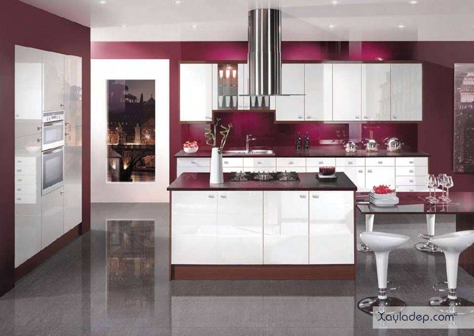 8. cánh tủ bếp acrylic đẹp hay không phụ thuộc vào chất liệu của lớp acrylic