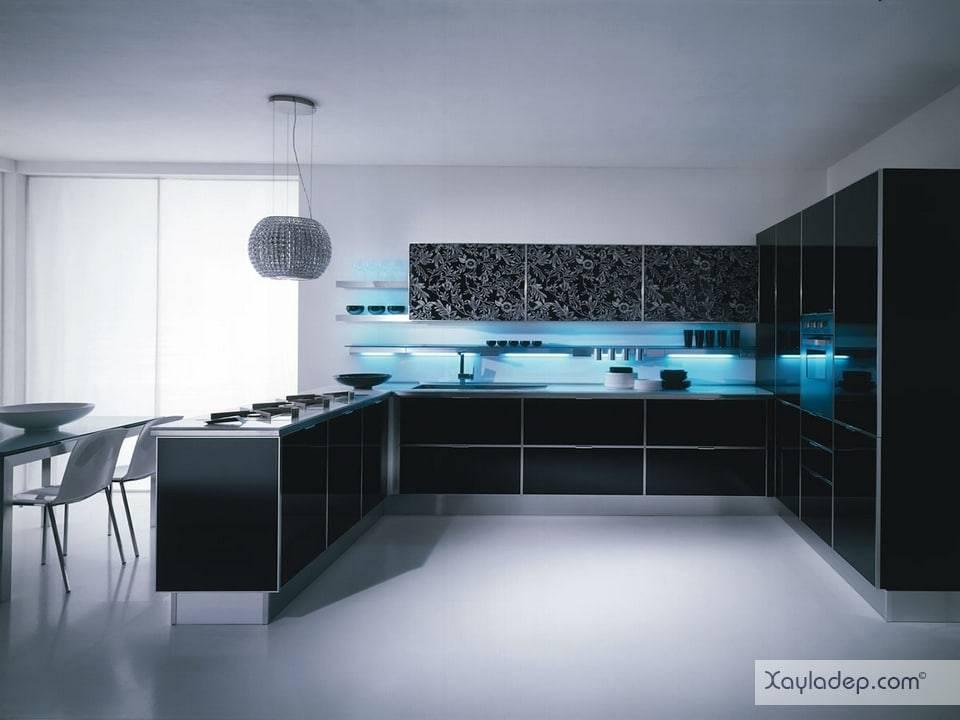 2. tủ bếp acrylic giá rẻ luôn là sự lựa chọn hàng đầu