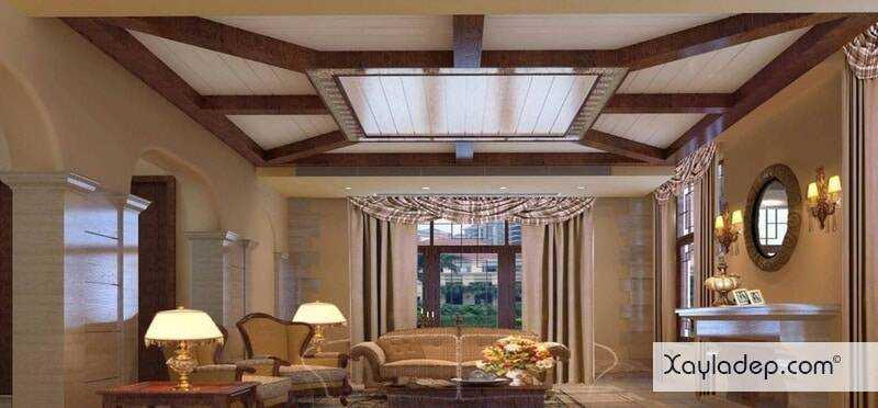 15-mau-tran-thach-cao-phong-khach-2017-11 Đón nắng hè với các mẫu trần thạch cao phòng khách mới nhất