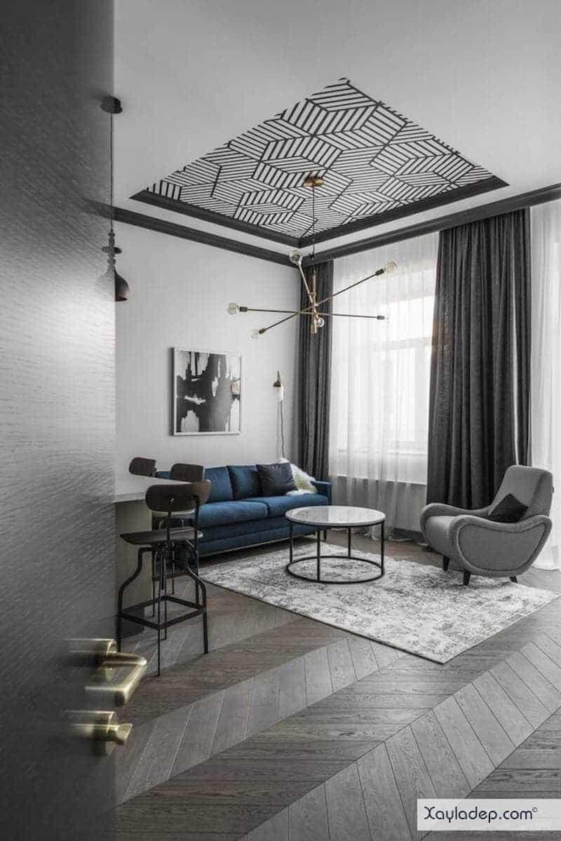 15-mau-tran-thach-cao-phong-khach-2017-13 Đón nắng hè với các mẫu trần thạch cao phòng khách mới nhất
