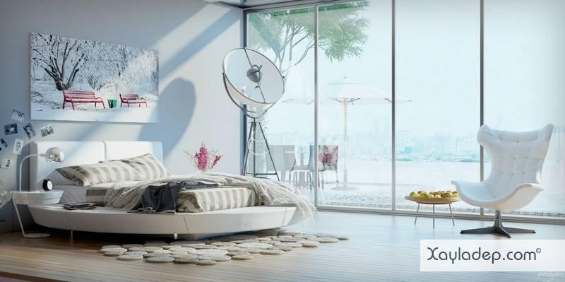 5-mau-thiet-ke-phong-ngu-hien-dai-10 5 Mẫu thiết kế phòng ngủ hiện đại