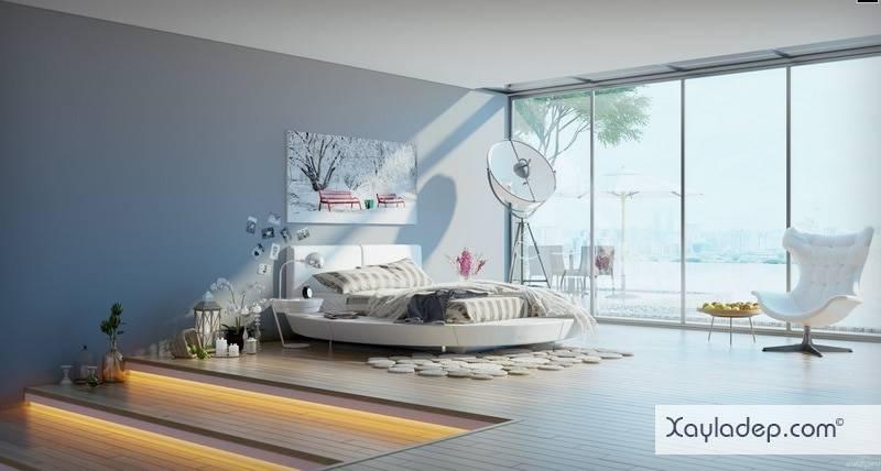 5-mau-thiet-ke-phong-ngu-hien-dai-11 5 Mẫu thiết kế phòng ngủ hiện đại
