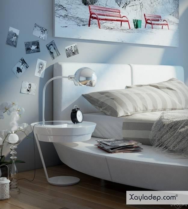 5-mau-thiet-ke-phong-ngu-hien-dai-12 5 Mẫu thiết kế phòng ngủ hiện đại