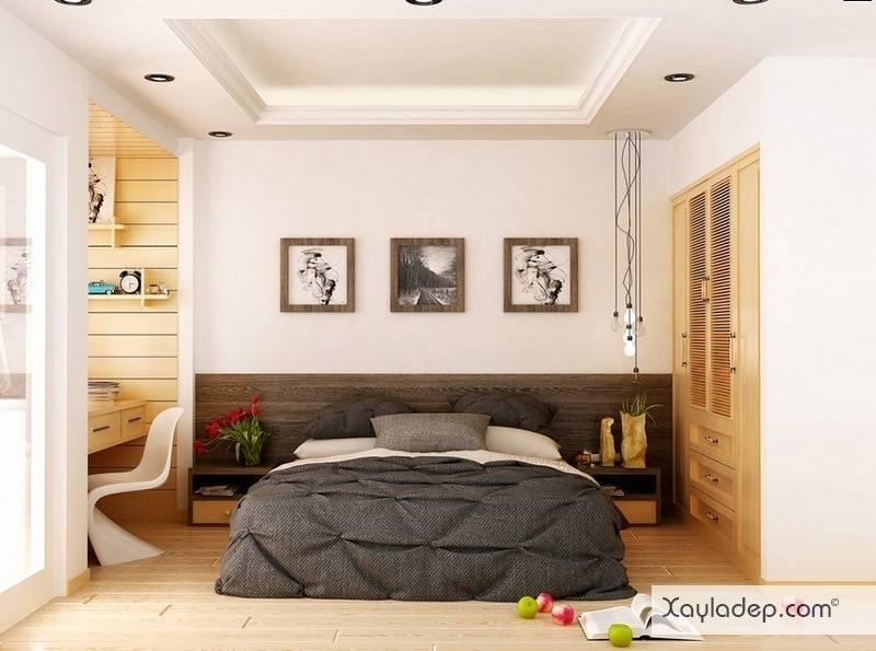 5-mau-thiet-ke-phong-ngu-hien-dai-5 5 Mẫu thiết kế phòng ngủ hiện đại