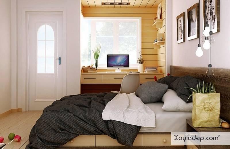 5-mau-thiet-ke-phong-ngu-hien-dai-7 5 Mẫu thiết kế phòng ngủ hiện đại