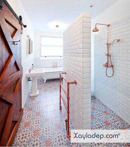 gach-lat-nen-nha-tam-10 20 Mẫu gạch lát nền nhà tắm tuyệt đẹp mà bạn không thể bỏ qua
