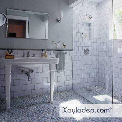 gach-lat-nen-nha-tam-13 20 Mẫu gạch lát nền nhà tắm tuyệt đẹp mà bạn không thể bỏ qua