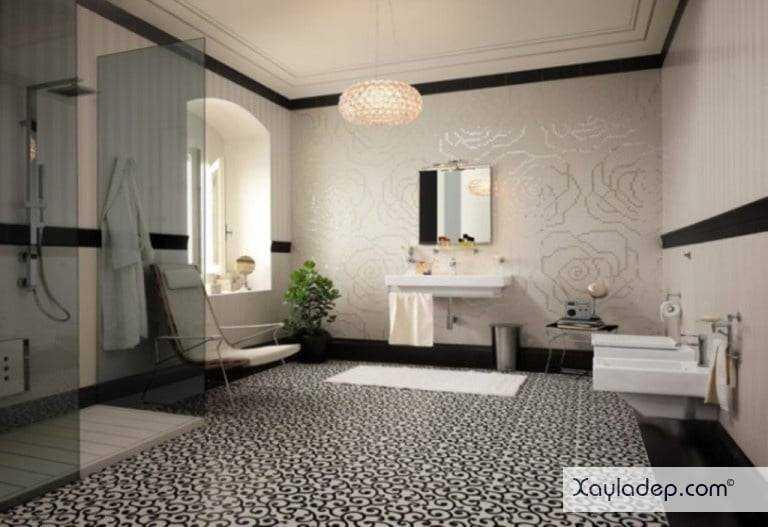 gach-lat-nen-nha-tam-14 20 Mẫu gạch lát nền nhà tắm tuyệt đẹp mà bạn không thể bỏ qua
