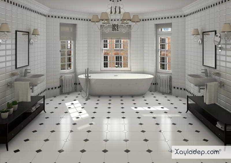 gach-lat-nen-nha-tam-17 20 Mẫu gạch lát nền nhà tắm tuyệt đẹp mà bạn không thể bỏ qua