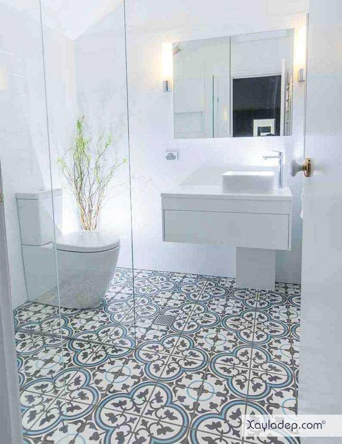 gach-lat-nen-nha-tam-20 20 Mẫu gạch lát nền nhà tắm tuyệt đẹp mà bạn không thể bỏ qua