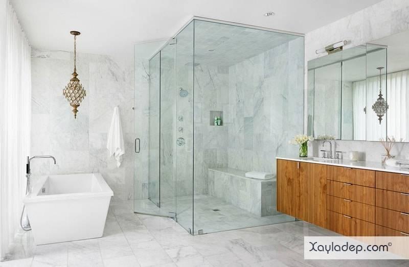 gach-lat-nen-nha-tam-4 20 Mẫu gạch lát nền nhà tắm tuyệt đẹp mà bạn không thể bỏ qua
