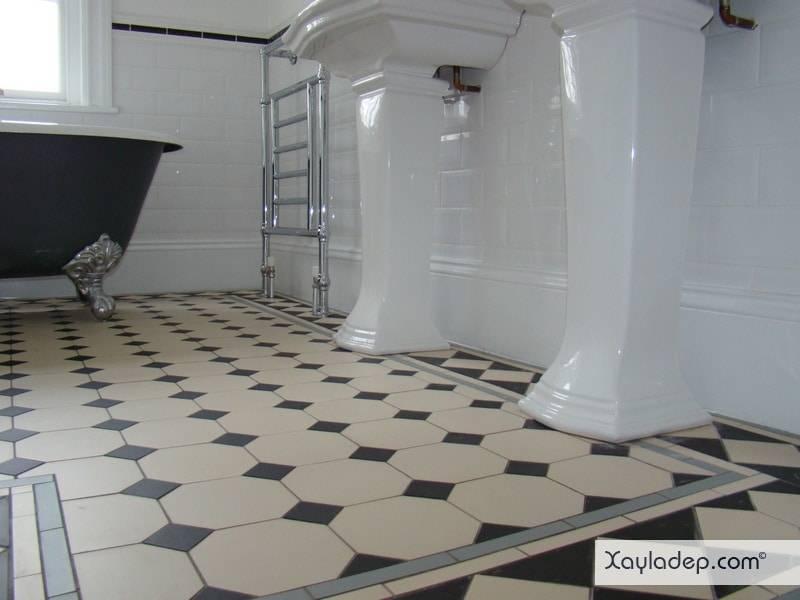 gach-lat-nen-nha-tam-6 20 Mẫu gạch lát nền nhà tắm tuyệt đẹp mà bạn không thể bỏ qua