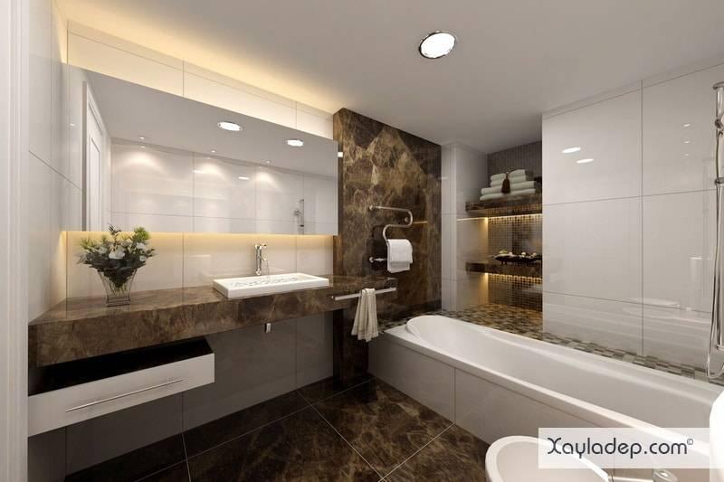 20 Mẫu gạch lát nền nhà tắm đẹp 2019. Ảnh 14